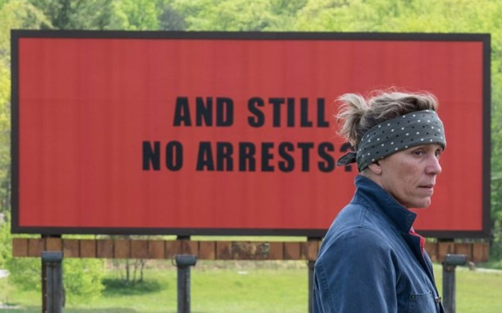 Three Billboards' Angry Prayer